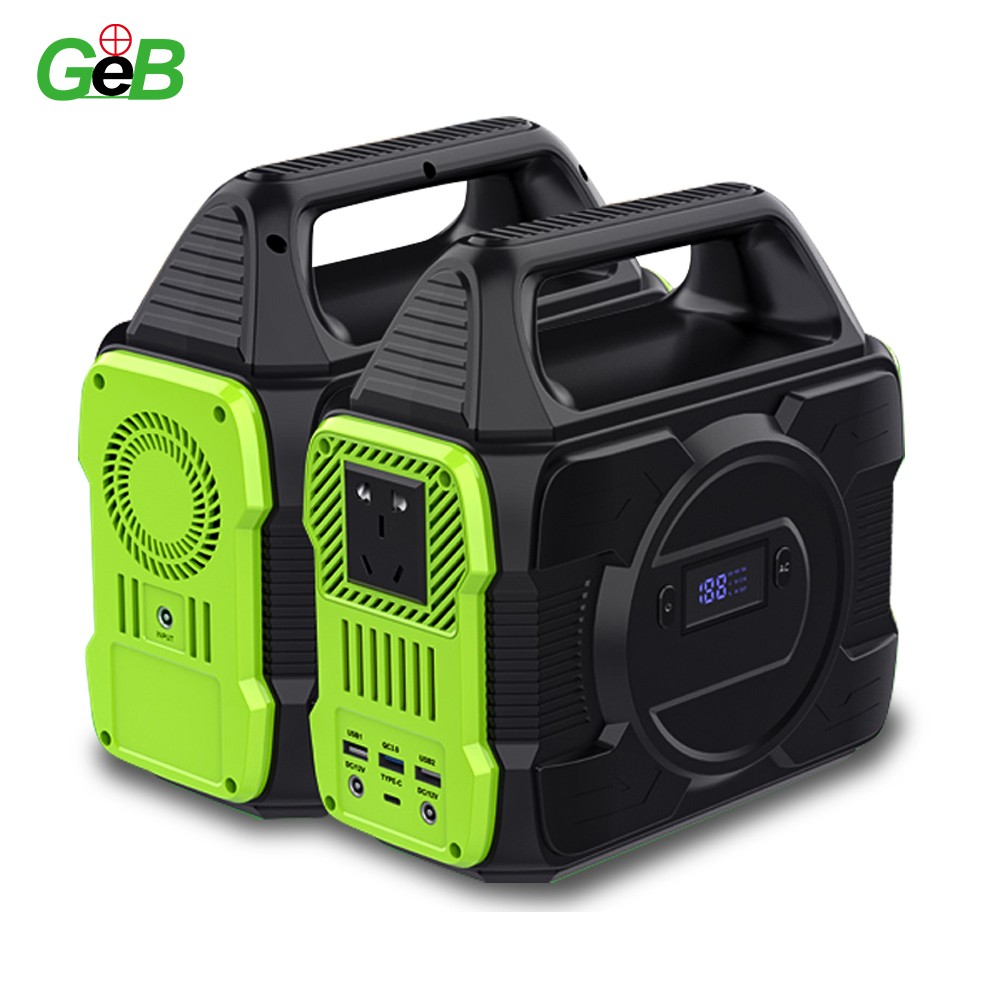 Portable Power Station Outdoor Solar Generator 300Wh Portable Power Station